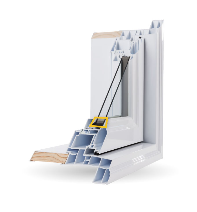 Casement Windows - High Performance Edgetech© Foam Super Spacer