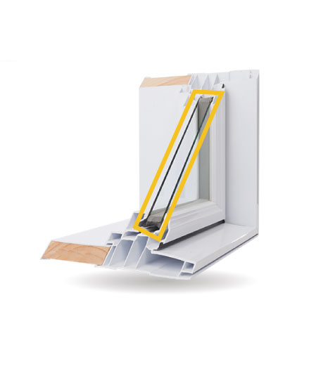Architectural Windows - Double-Glazed Low-E Argon Gas