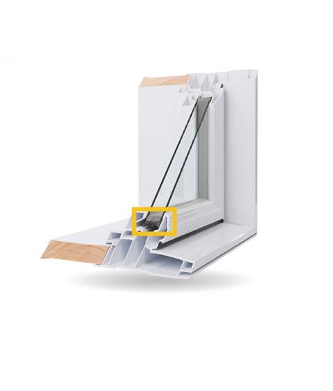 Fenêtres structurales - Intercalaire Super Spacermd de Edgetech à haute performance