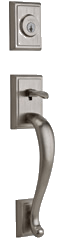 Pemberly Entry Door Hardware