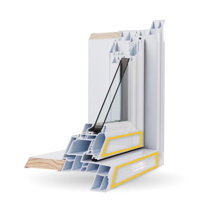 Casement Windows - High Gloss Finish
