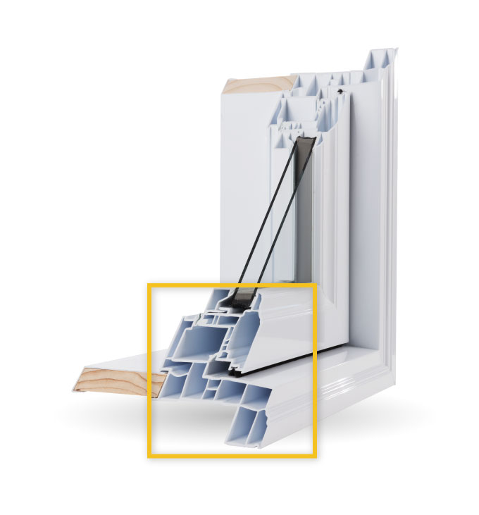 Awning Windows - Multi-Chamber Construction