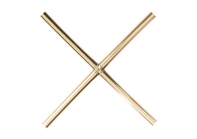 Pencil Bar Grilles - Brass