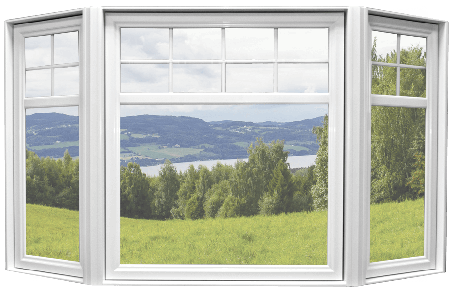 Fen tres en baie portes et fen tres guitard for Fenetre baie window prix